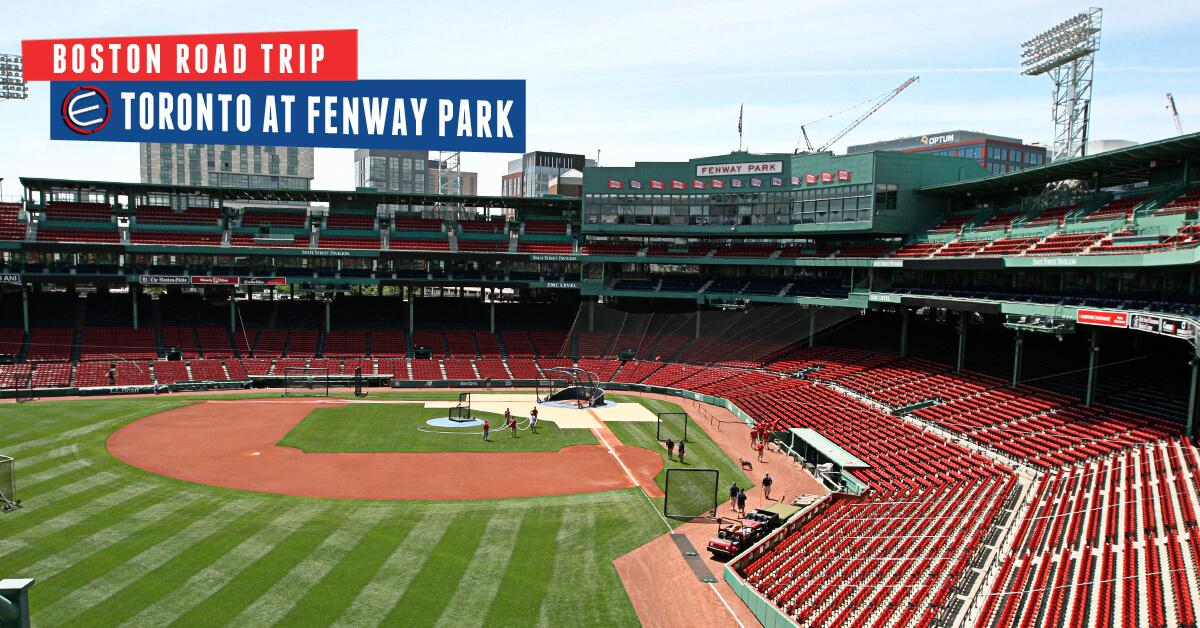 Toronto Blue Jays at Boston Red Sox Bus Trip June 21-23 2019