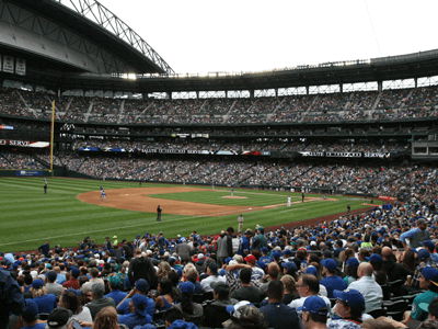 Blue Jays at Safeco Field Road Trip