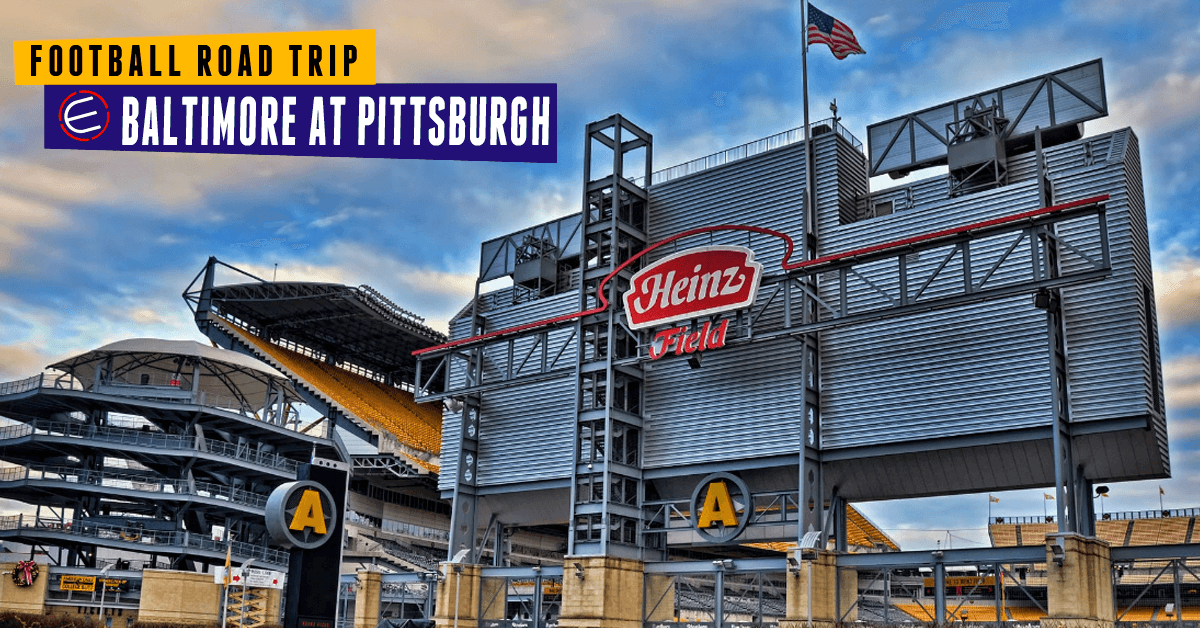 Baltimore Ravens at Pittsburgh Steelers Bus Tour