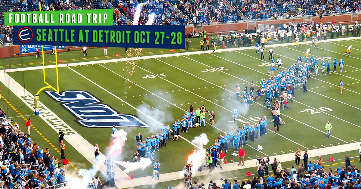 Seattle Seahawks at Detroit Lions Bus Tour