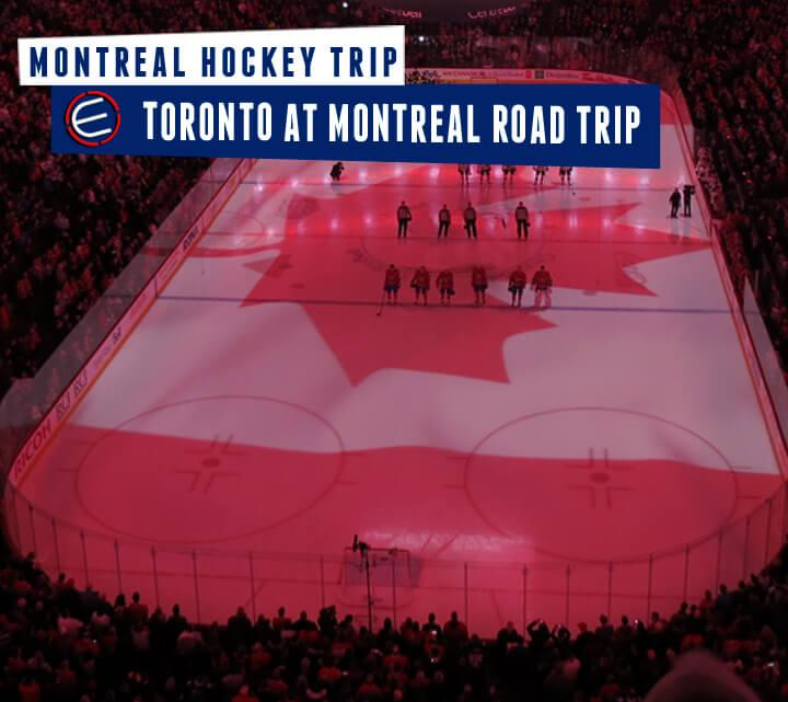 Toronto Maple Leafs at Montreal Canadiens Bus Tour
