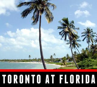 Toronto Maple Leafs at Florida Road Trip