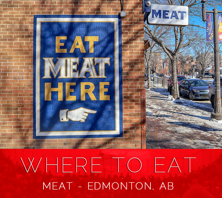 Top Edmonton Restaurants - Meat For Dinner