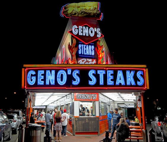 Geno's Steaks - Best Philly Cheesesteak in Philadelphia