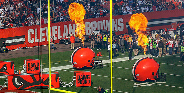 Cleveland Browns Tailgate Party