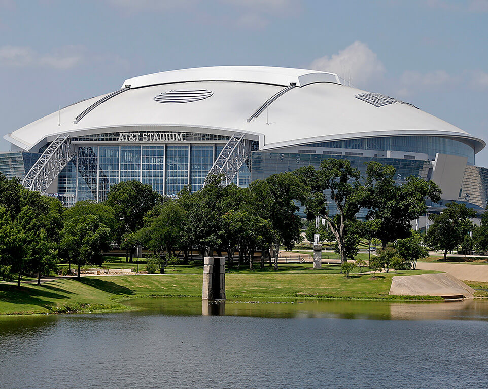 Where do the Dallas Cowboys play football?