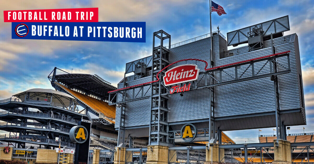 Buffalo Bills at Pittsburgh Steelers Bus Tour