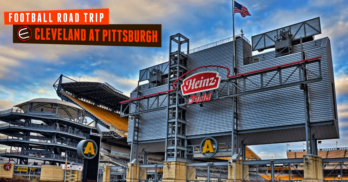 Cleveland Browns at Pittsburgh Steelers Bus Tour