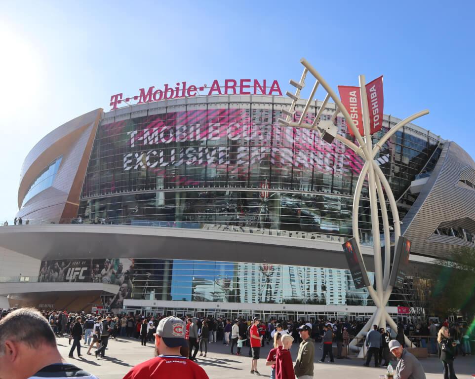 Where do the Vegas Golden Knights  play hockey?