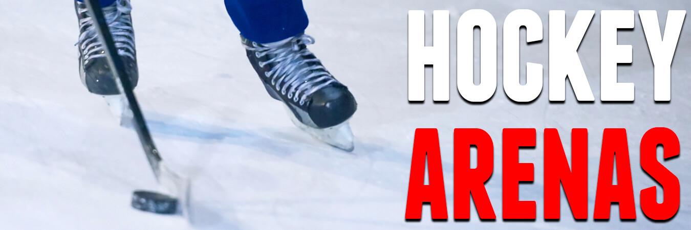 Hockey Arenas - Where do they play?