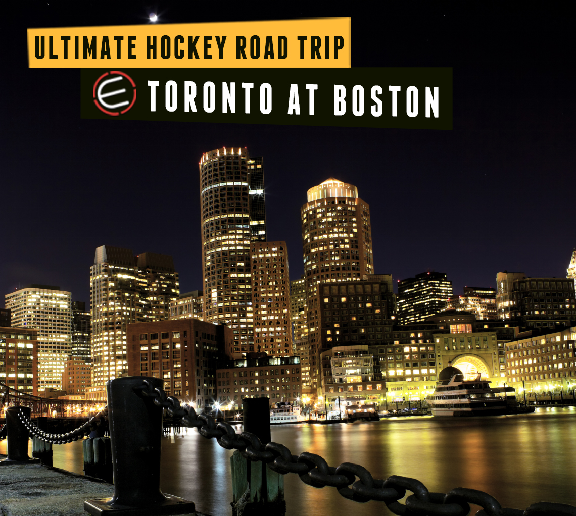 Toronto Blue Jays at Boston Bruins Bus Tour