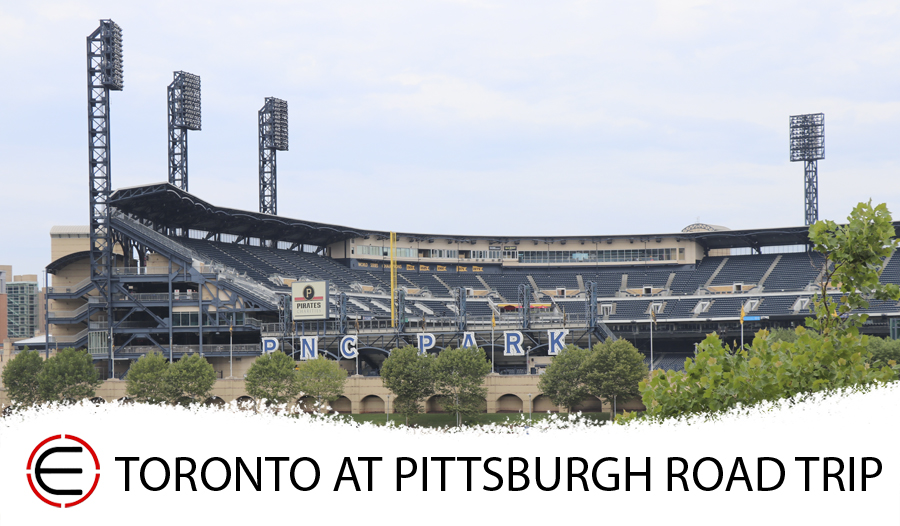 Toronto Blue Jays at Pittsburgh Pirates Bus Tour 2020