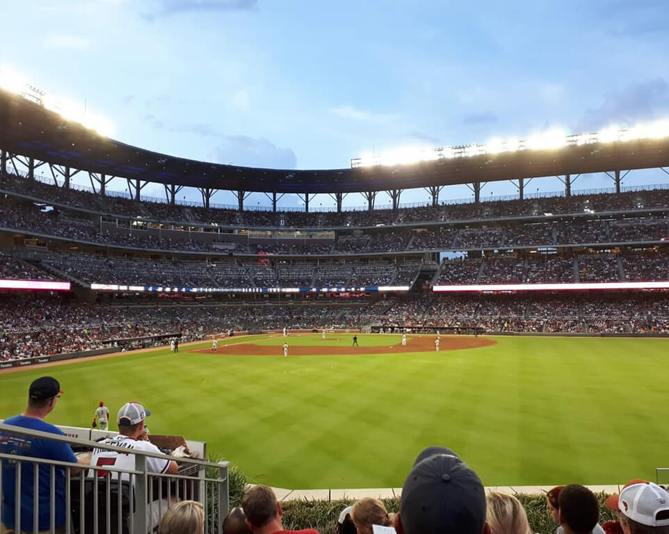 Where do the Houston Astros play baseball?