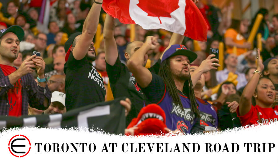 Toronto Raptors at Cleveland Cavaliers Bus Tour