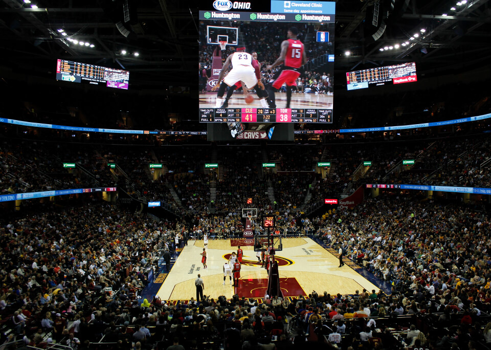 Toronto at Cleveland Basketball Road Trip