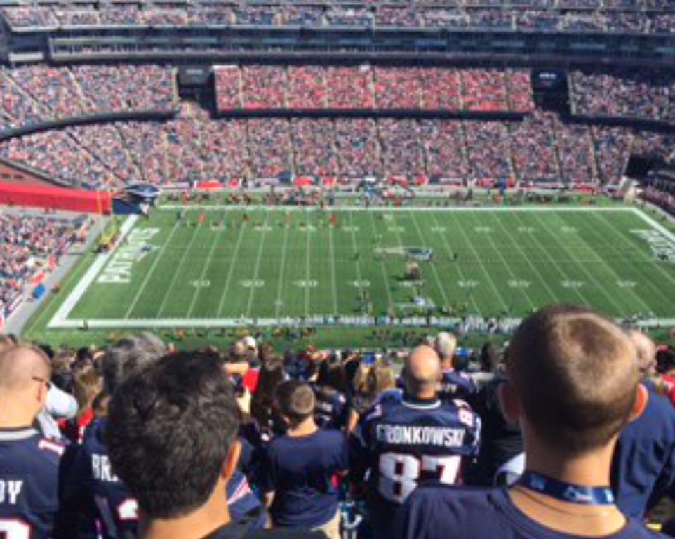 Where do the New England Patriots play football?