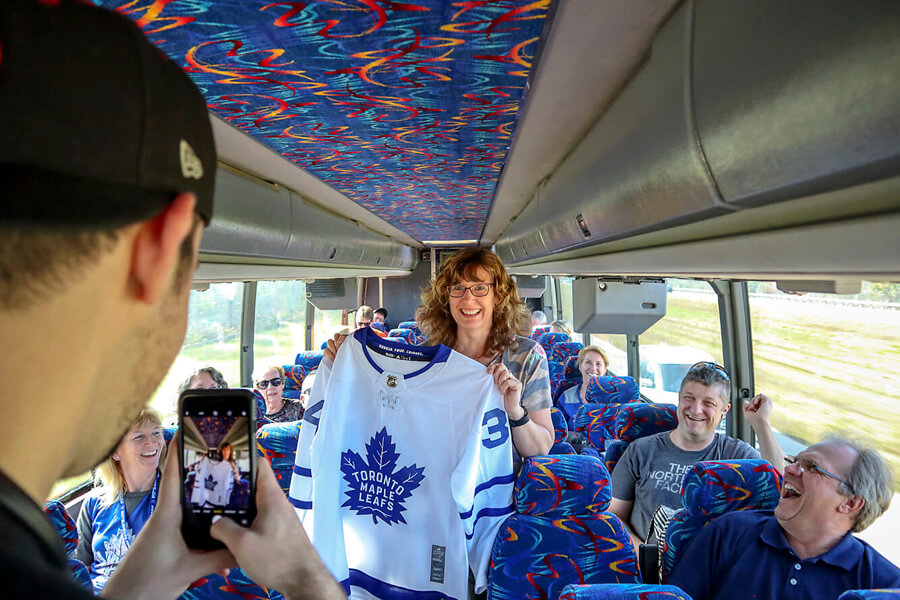 Toronto Maple Leafs Bus Tours