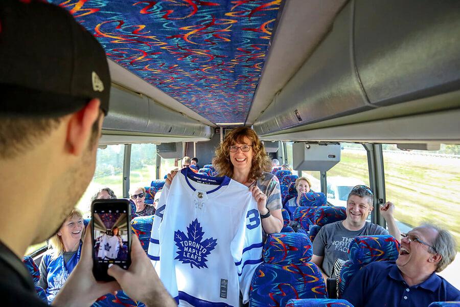 Toronto Maple Leafs Bus Tours