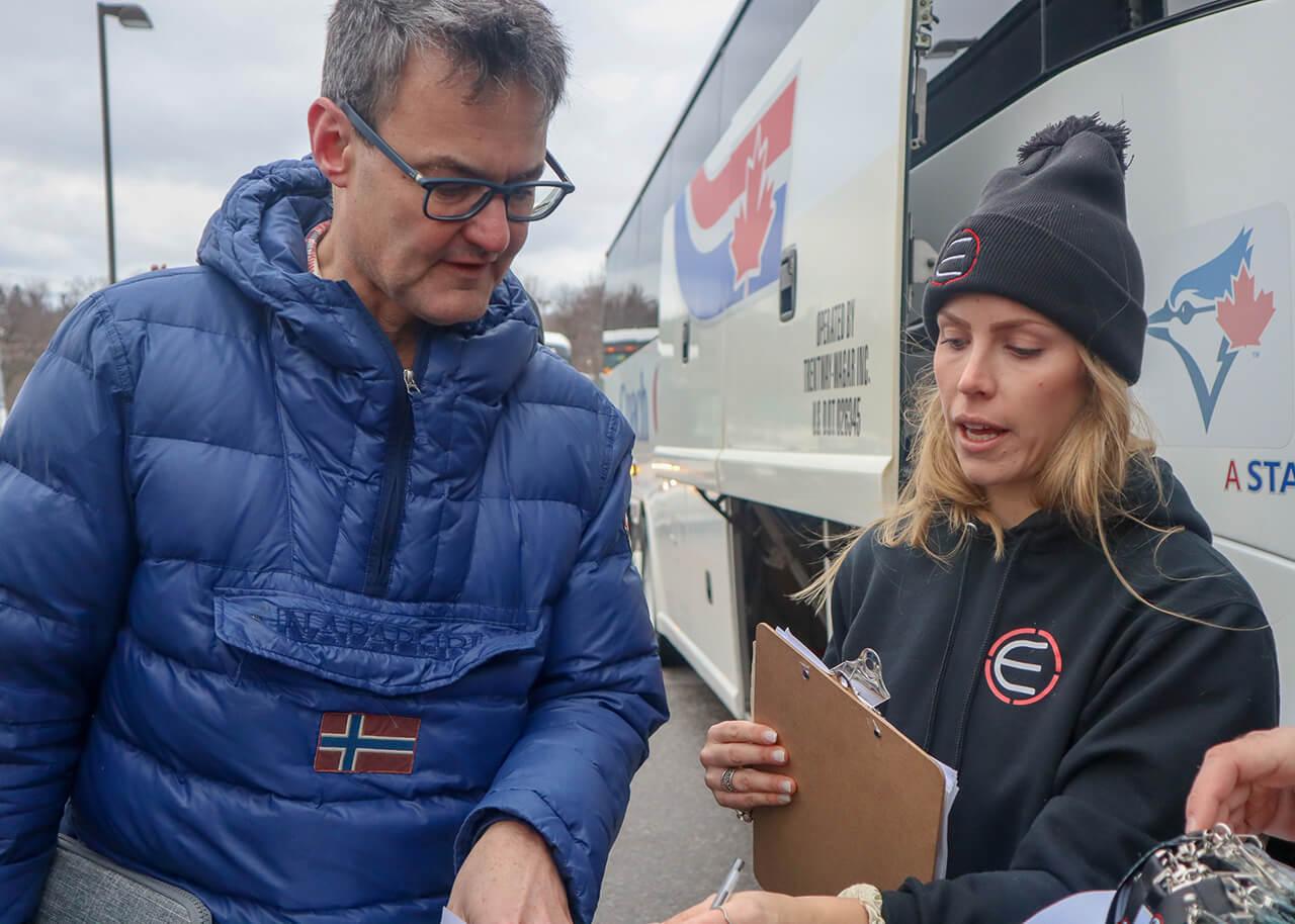 Toronto at Montreal Bus Tour
