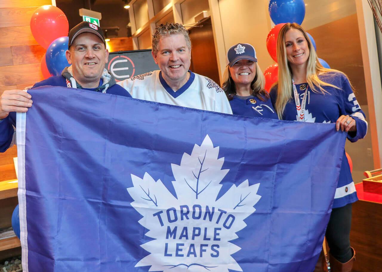 Toronto Maple Leafs Montreal Canadiens Hockey Trip