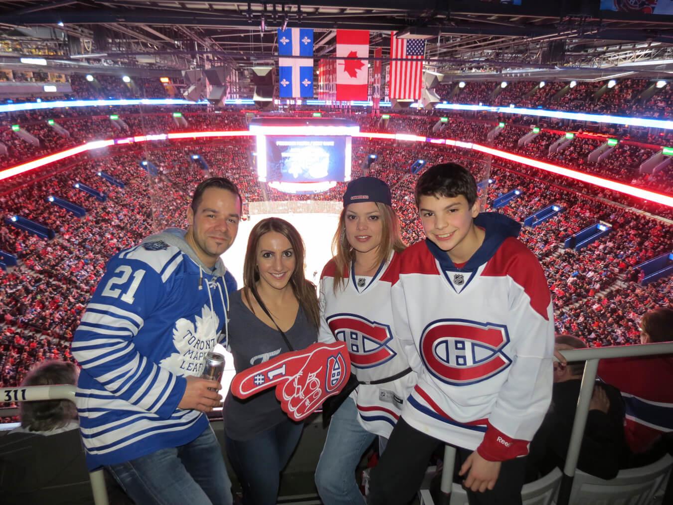 Leafs Canadiens Elite Sports Tours Road Trip