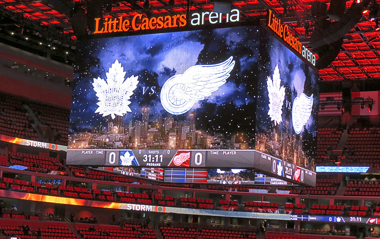 Maple Leafs at Detroit Red Wings Road Trip