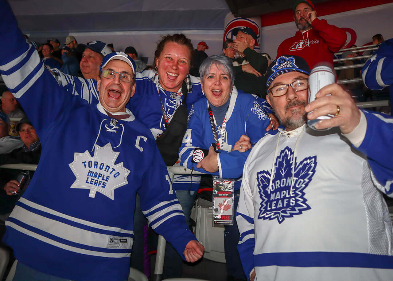 Toronto Maple Leafs at Montreal Bus Trip