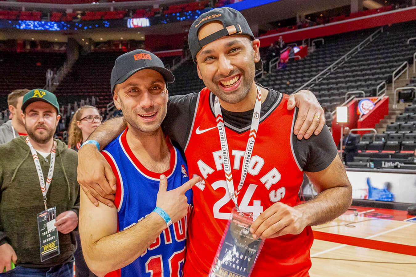 Toronto Raptors Detroit Pistons Playoff Bus Trip