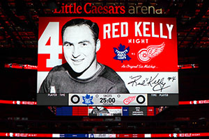Toronto Maple Leafs at Detroit Red Wings Road Trip