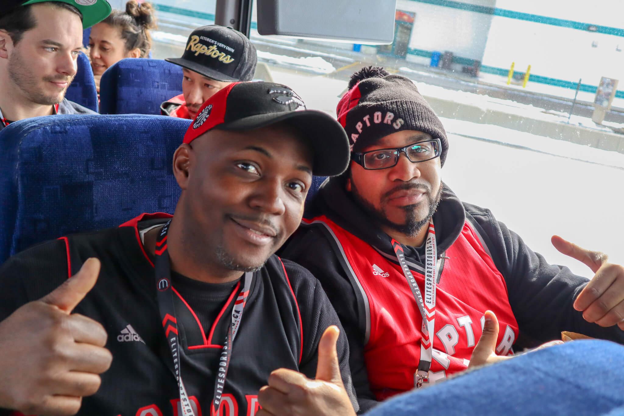 Toronto Raptors Detroit Road Trip