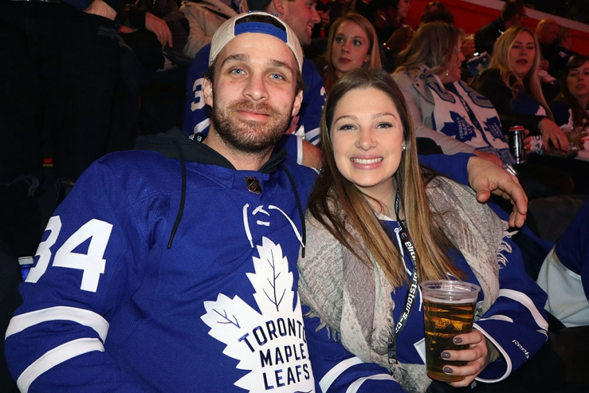 Toronto Maple Leafs at Detroit Red Wings Hockey Road Trip