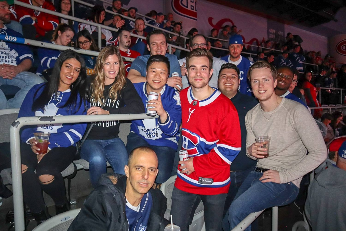 finest selection 15f89 52607 Toronto Maple Leafs at Montreal Canadiens Hockey Road Trip ...