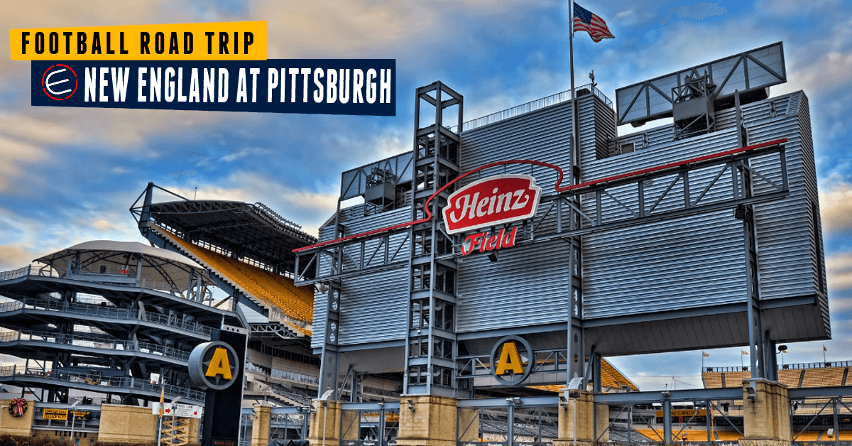 New England Patriots at Pittsburgh Steelers Bus Tour