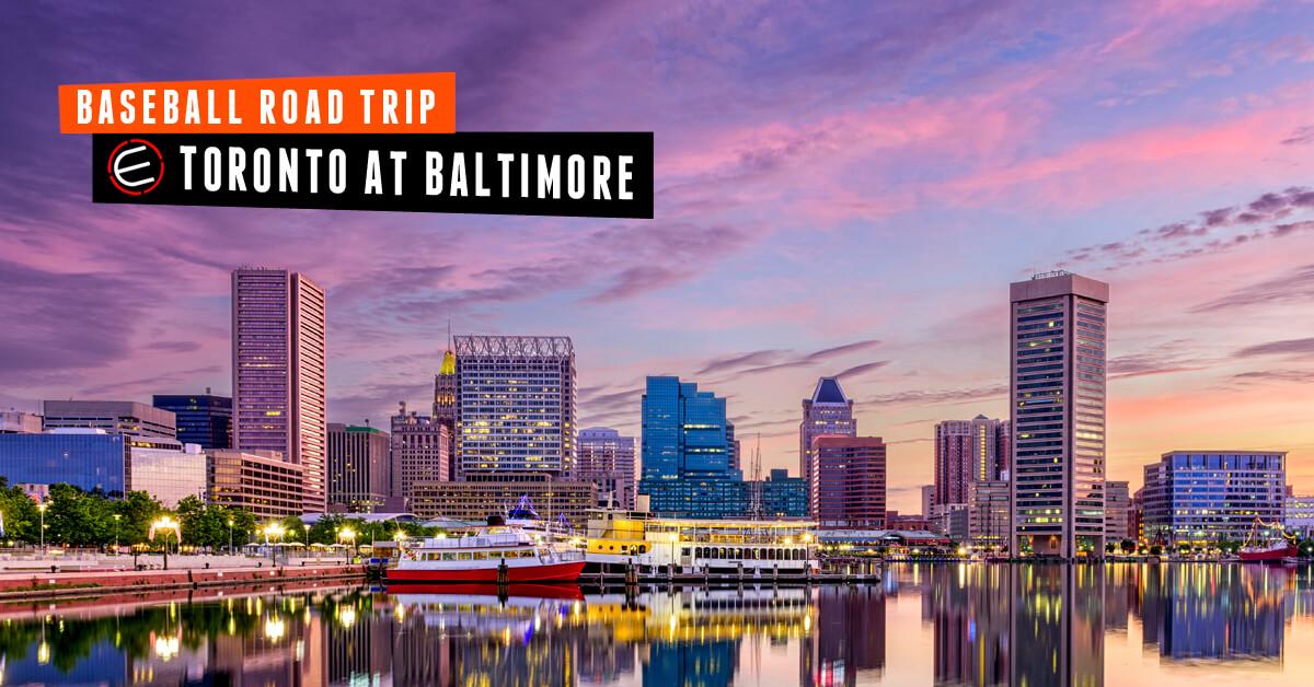 Toronto Blue Jays at Baltimore Bus Tour 2019
