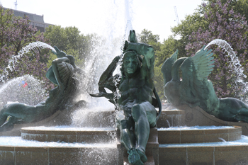 The Swann Memorial Fountain Philadelphia