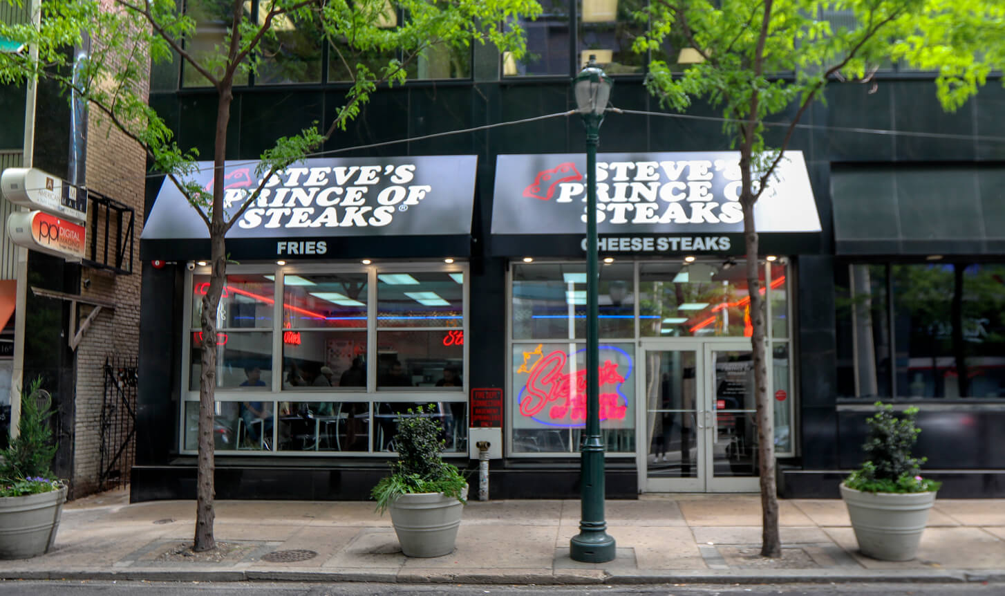 Top Philly Cheesesteak in Philadelphia - Steve's Prince of Steaks