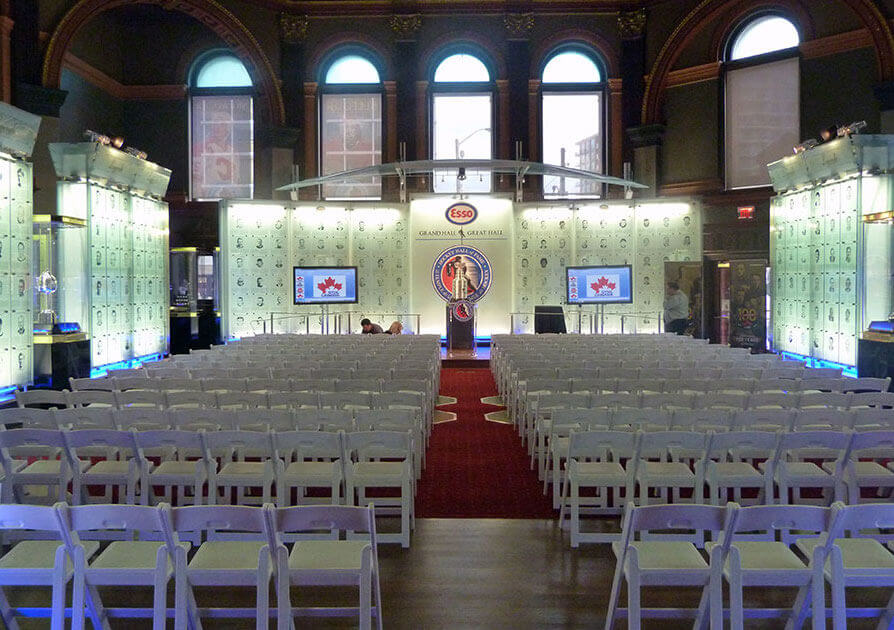 Hockey Hall of Fame Wedding