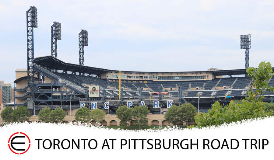 Toronto Blue Jays at Pittsburgh Road Trip