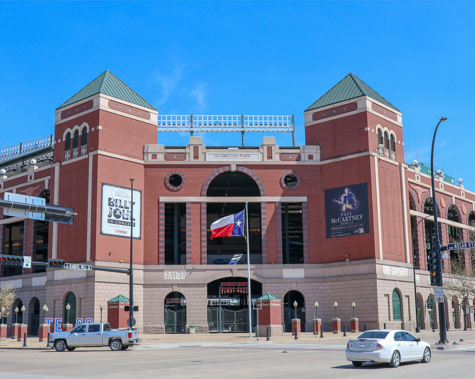 Texas Rangers Travel Packages