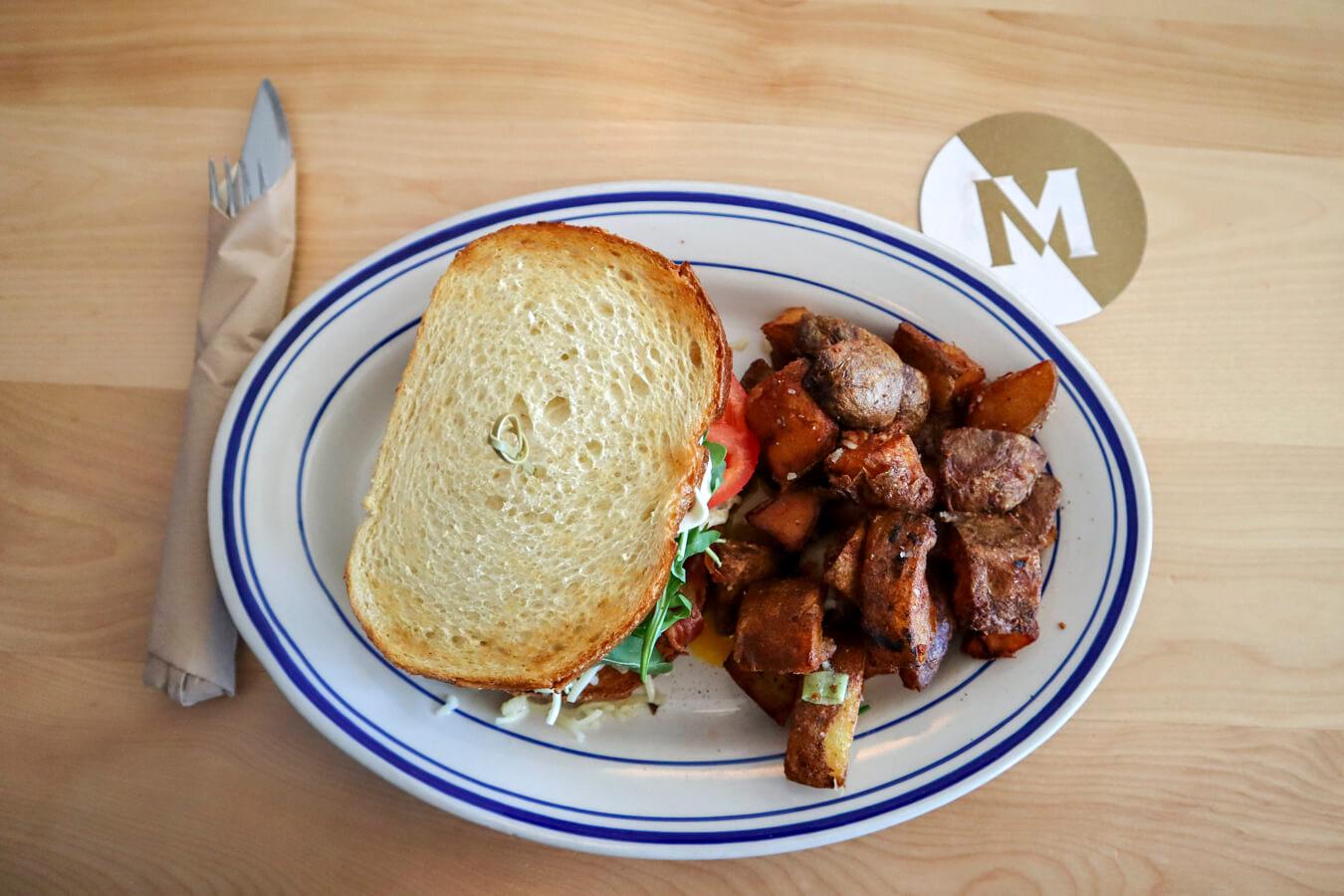 Meat For Dinner Edmonton Breakfast Sandwich