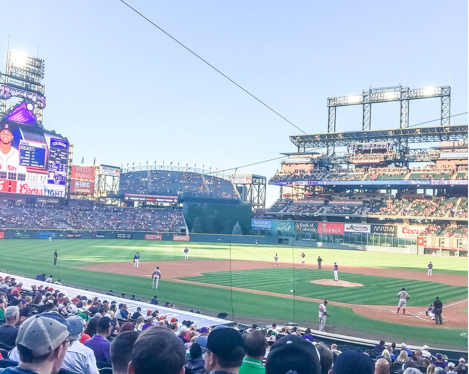 Where do the Colorado Rockies play baseball?