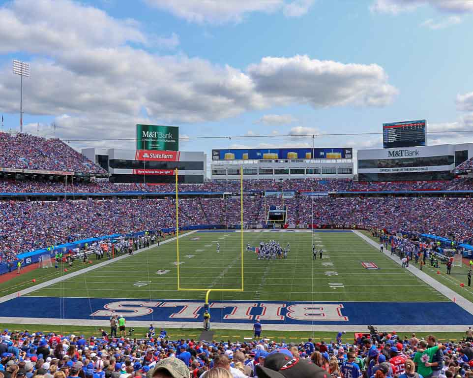 Where do the Buffalo Bills play football?