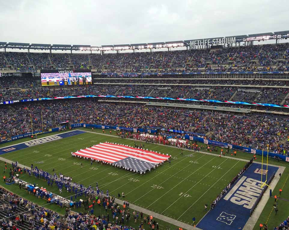 New York Giants Travel Packages