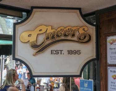 Where To Eat In Boston - Cheers Restaurant
