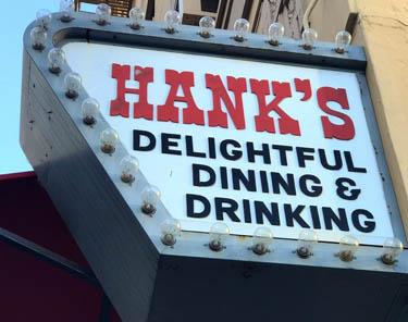 Where To Eat In LA - Hank's