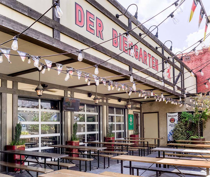 Where To Eat In ATL - Der BierGarten