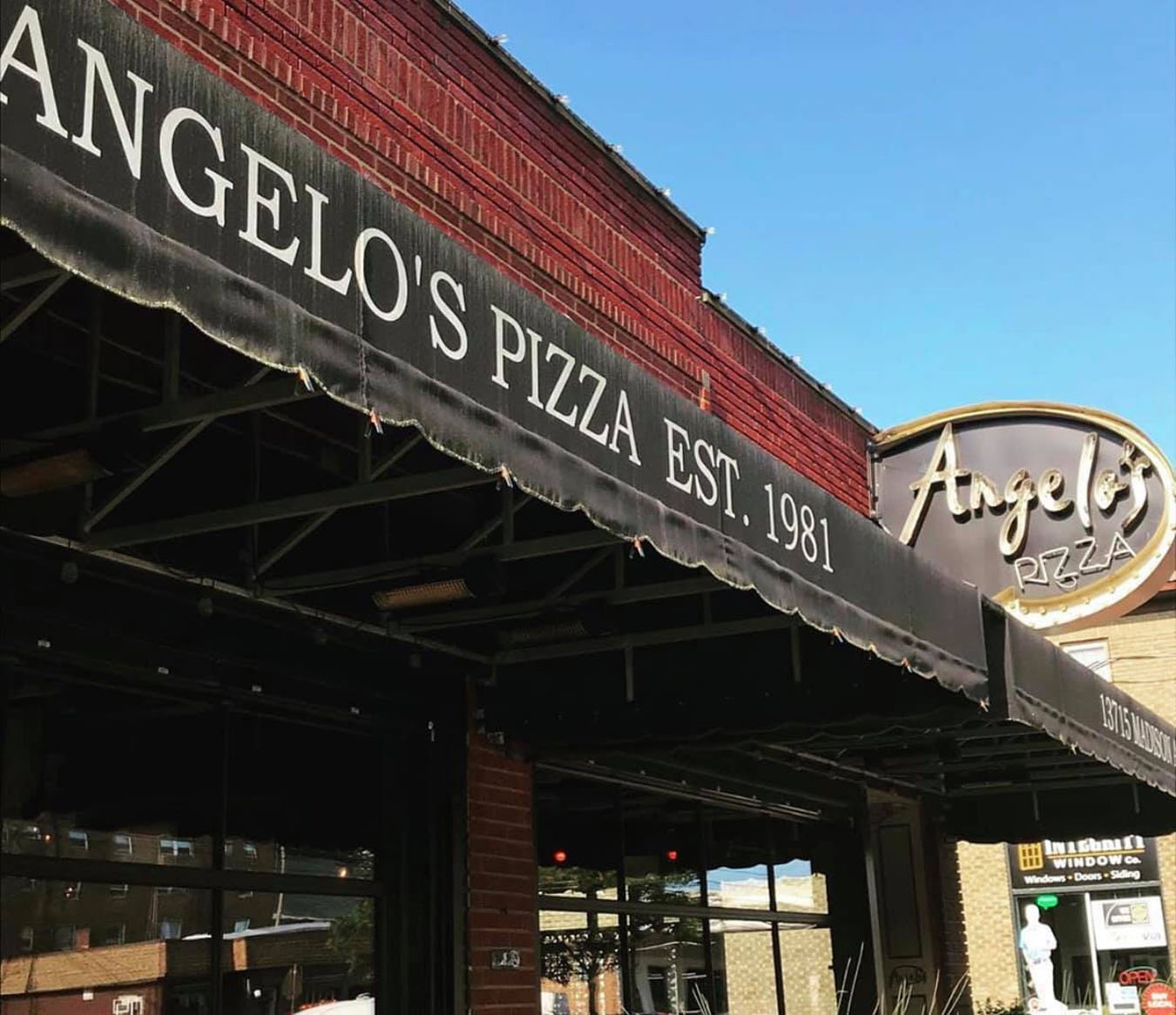 Where To Eat In Cleveland - Angelo's Pizza