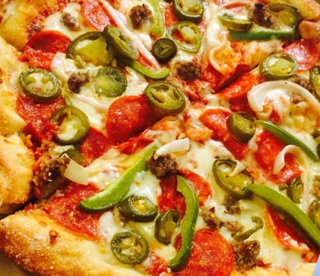 Where to Eat In San Antonio - Tanks Pizza