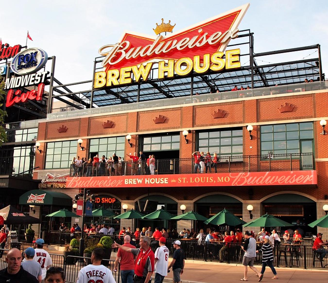 Where To Eat In St. Louis - Budweiser Brew House