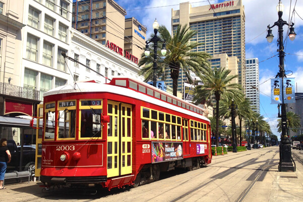 How to get around in New Orleans
